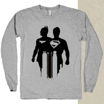 disney batman vs superman t-shirt long sleeves happy feed