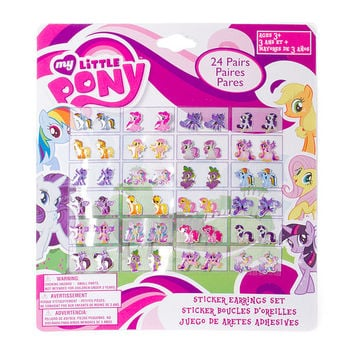 My Little Pony Princess Sticker Earrings Set of 24