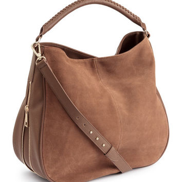Bag with Suede Details - from H&M