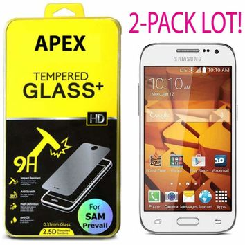Premium Tempered Glass Screen Protector for Samsung Galaxy Prevail LTE 635909324614