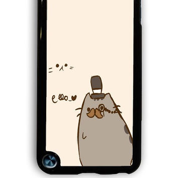 IPod 5 Case - Hard (PC) Cover with Pusheen The Cat Plastic Case Design