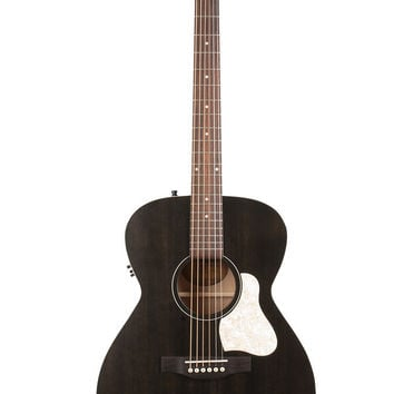 Art & Lutherie Legacy Concert Hall Acoustic Guitar in Faded Black