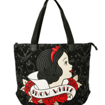 Disney Snow White Tattoo Tote Bag