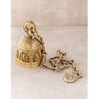 Solid Brass Ganesh Temple Bell