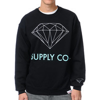 Diamond Supply Co. Black Crew Neck Sweatshirt at Zumiez : PDP