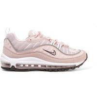 Nike - Air Max 98 leather, suede and mesh sneakers