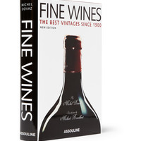 Assouline - Fine Wines: The Best Vintages Since 1900 by Michel Dovaz Hardcover Book | MR PORTER
