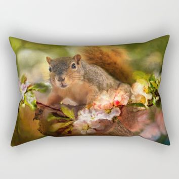 You Foxy Thing Rectangular Pillow by Theresa Campbell D'August Art
