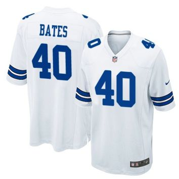 KUYOU Dallas Cowboys Jersey - Bill Bates White Throwback Jersey