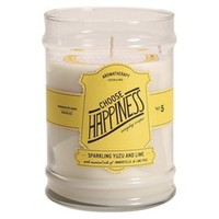 Citrus Container Candle YLW
