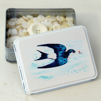 Messenger Bird Tin — Dear Blackbird Homewares