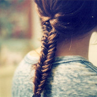 Alfiana Dzikra Mumtaza | fishtail braid