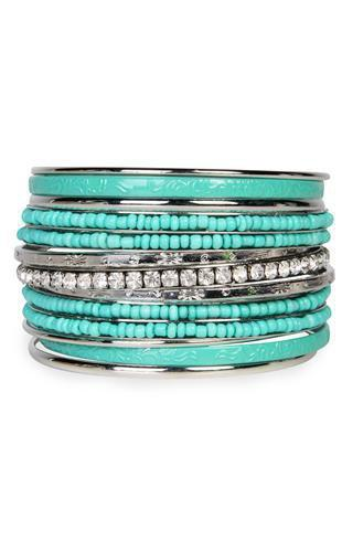 colorful bangle set - debshops.com
