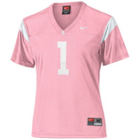 Nike USC Trojans #1 Women's Replica Football Jersey - Pink