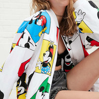 Mickey + Minnie Reversible Zip Jacket   Urban Outfitters