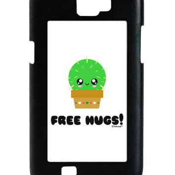 Cute Cactus - Free Hugs Galaxy Note 2 Case  by TooLoud