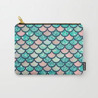 Mermaid Dream Carry-All Pouch by Printapix