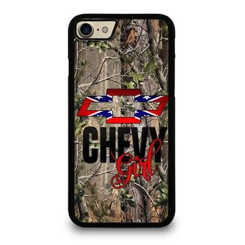CAMO BROWNING REBEL CHEVY GIRL iPhone 7 Case Cover