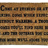Come at Evening Doormat