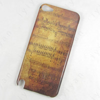 Retro Music Spectrum Hard Back Cover Case for iPod Touch 5 5th Gen