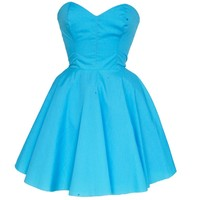Turquoise Vintage Inspired Prom Dress | Style Icon`s Closet
