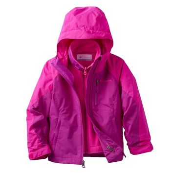 Columbia Outgrown 3-in-1 Systems Jacket - Girls 4-18, Size: