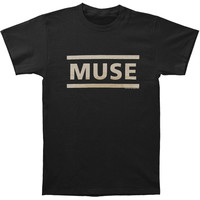 Muse Men's  Logo T-shirt Black Rockabilia