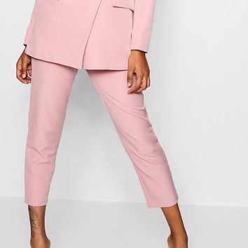 Straight Leg Pocket Detail Pants | Boohoo