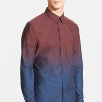 Men's PS Paul Smith Slim Fit Ombre Shirt,