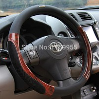 winter autumn High quality Car Steering Wheel Cover A4 A6 A7 Q3 Q5 X5 X3 Road ix35 eam STEERING COVER