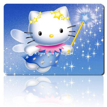 hello kitty mouse pad angel mousepad laptop anime mouse pad gear notbook computer gaming mouse pad gamer play mats