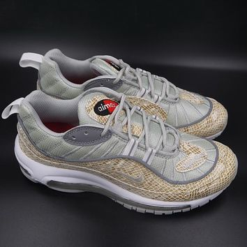 Trendsetter  Supreme x NikeLab Air Max 98  Women Men Fashion Casual Sneakers Sport Shoes