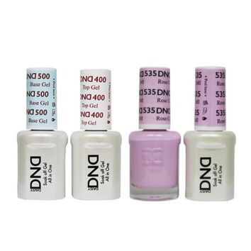 DND - Base, Top, Gel & Lacquer Combo - Rose City MI - #535
