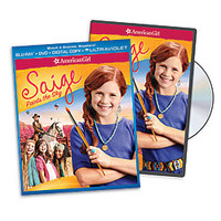 "American Girl® Bookstore: ""An American Girl: Saige Paints the Sky"" DVD or Two-disc Blu-ray Combo Pack"