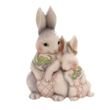 Jim Shore FOREVER MY HONEY BUNNY Polyresin Easter 6003624