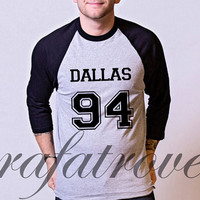 Cameron Dallas Shirt Dallas 94 Baseball Raglan Tee Shirts Tshirt Unisex Size - RT184