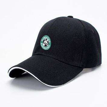 Starbucks Parody Mashup, Dragon And Dungeon Baseball Cap