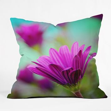 Shannon Clark Floral Pop Throw Pillow