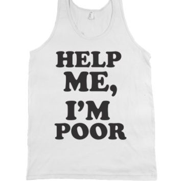 White Tank | Funny Bridesmaids Movie Quotes Shirts