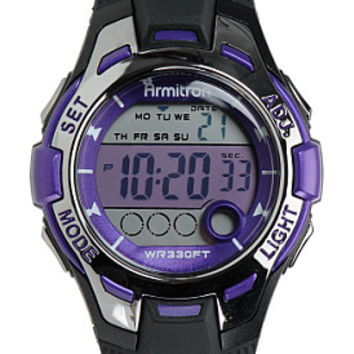 ARMITRON Women's 45/7030 Chronograph Digital Sport Watch