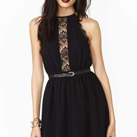 Delicate Flower Lace Dress