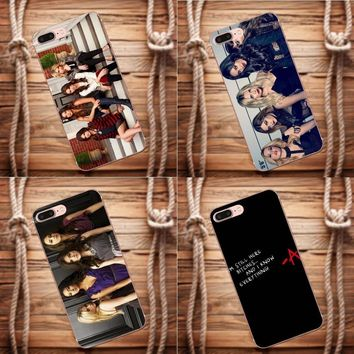Vvcqod Pretty Little Liar For Apple iPhone 4 4S 5 5C 5S SE 6 6S 7 8 Plus X For Moto G G2 G3 Coque Phone Case Transparent Soft