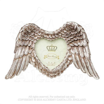 Alchemy Gothic Shades of Alchemy Winged Heart Photo Frame
