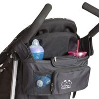 Stroller Organizer - Stylish, High Quality, Functional and Very Highly Rated. Keep Your Accessories Safe and Secure. Fits Most Strollers. Waterproof & Leakproof. Fully Guaranteed