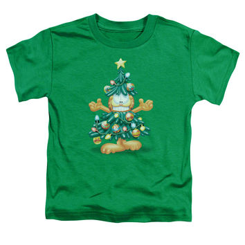 Toddler Garfield/Tree Short Sleeve