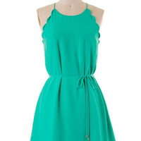 The Grass is Always Greener Dress
