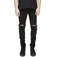 Men's Ripped/Distressed Jeans (Slim Fit)