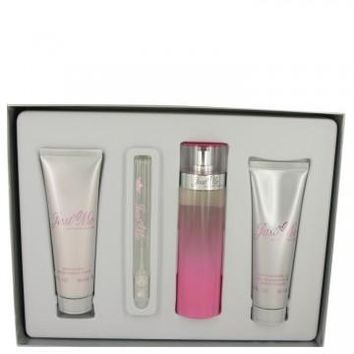 Gift Set -- 3.3 oz Eau De Parfum Spray + 3 oz Body Lotion + 3 oz Shower Gel + .34 oz Mini EDP Spray Just Me Paris Hilton by Paris Hilton