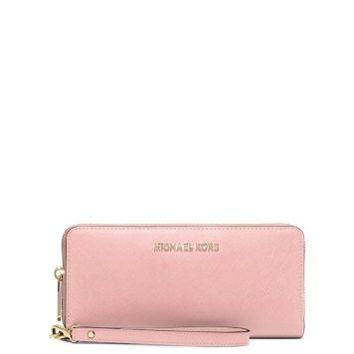 Jet Set Travel Leather Continental Wallet | Michael Kors