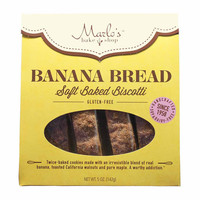 Banana Bread Soft Baked Biscotti by Marlo's 5 oz